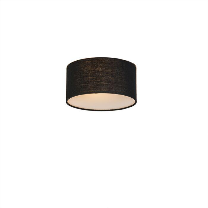 Plafonnière-Drum-Basic-20-zwart