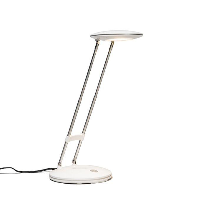 Tafellamp-Discus-wit