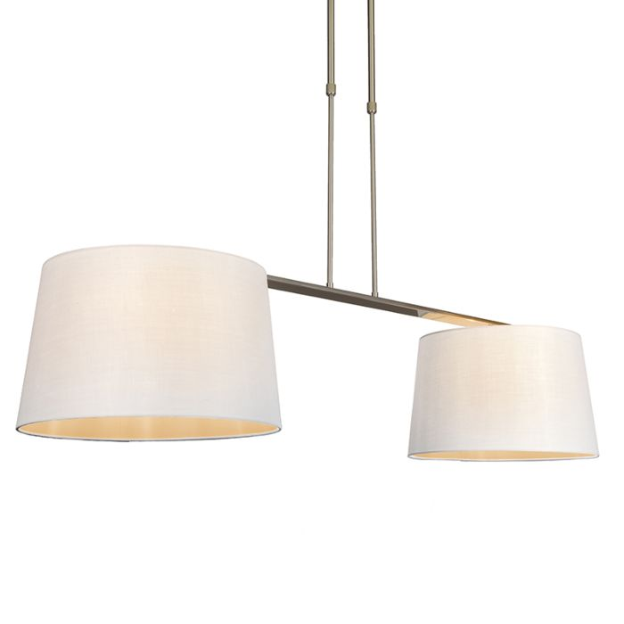 Hanglamp-Combi-Delux-2-kap-rond-40cm-wit
