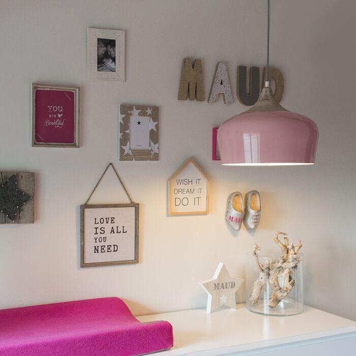 Hanglamp-Pine-roze