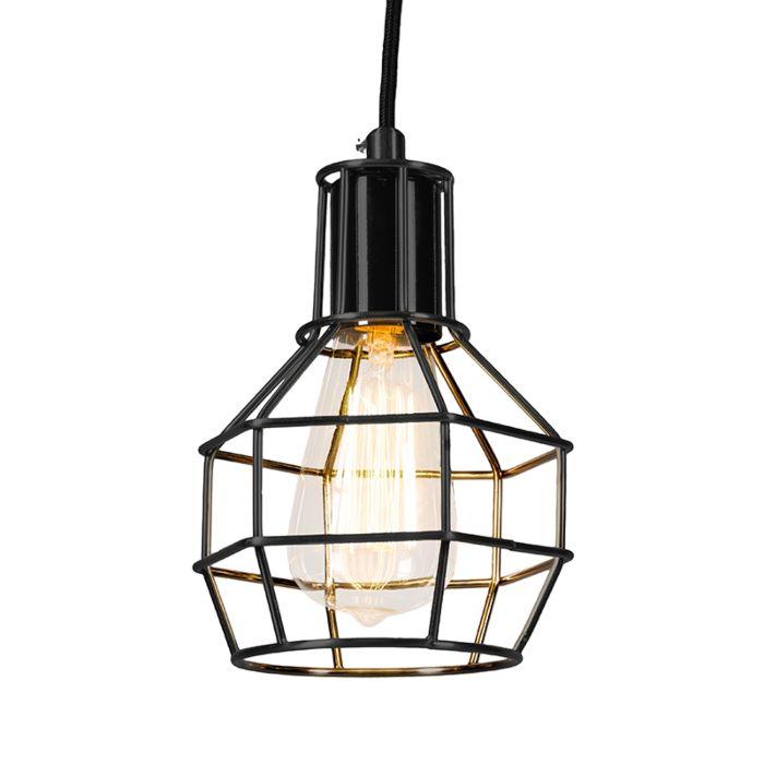 Hanglamp-Licor-zwart