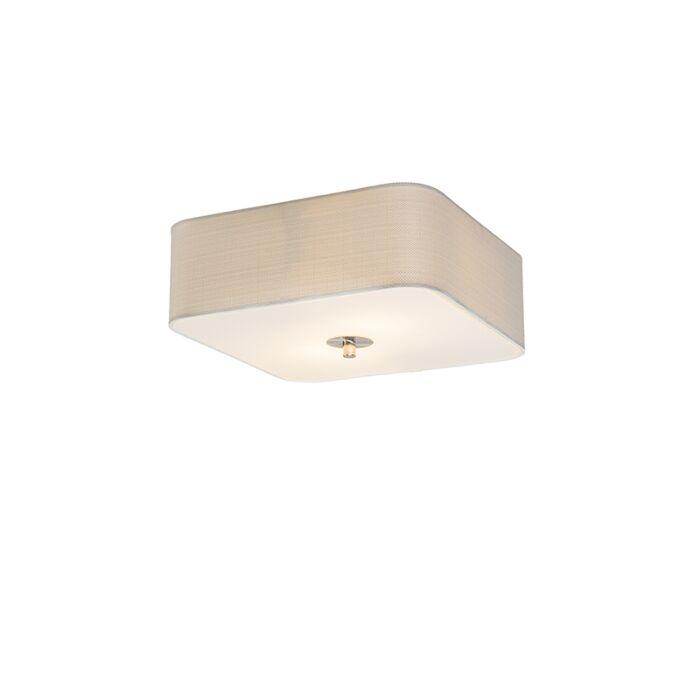 Plafondlamp-vierkant-wit-30-cm---Drum-deluxe-Jute