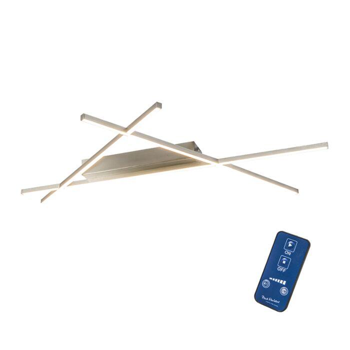 Plafonnièrre-Mikado-Triangle-staal