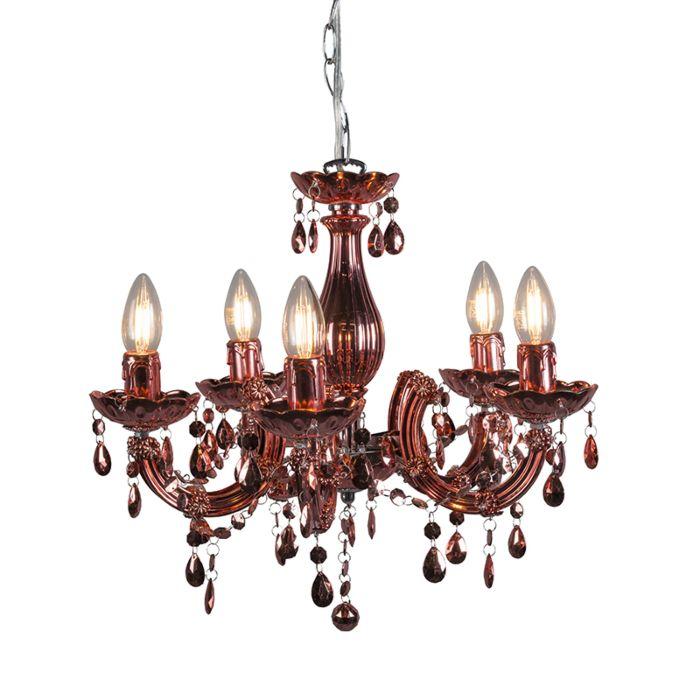 Hanglamp-Marie-Theresa-5-rosé