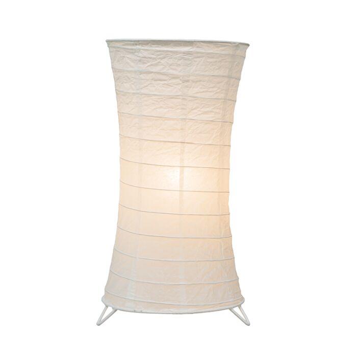 Tafellamp-Papel-wit