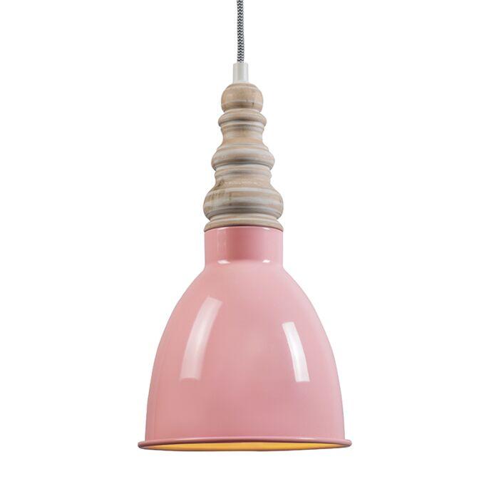 Hanglamp-Oak-roze