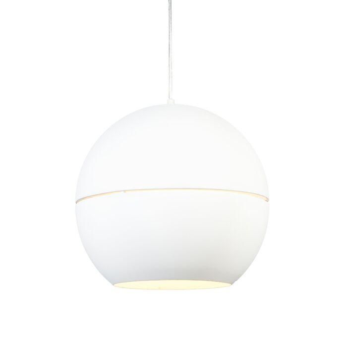 Hanglamp-Slice-40-wit