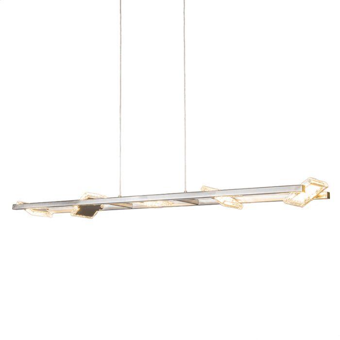 Hanglamp-Escalera-staal