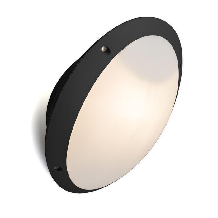 Wandlamp-zwart-IP65-verstelbaar---Remi