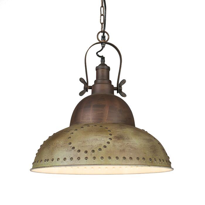 Hanglamp-Cangus-antiek-groen