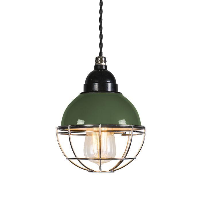 Hanglamp-Harbor-groen