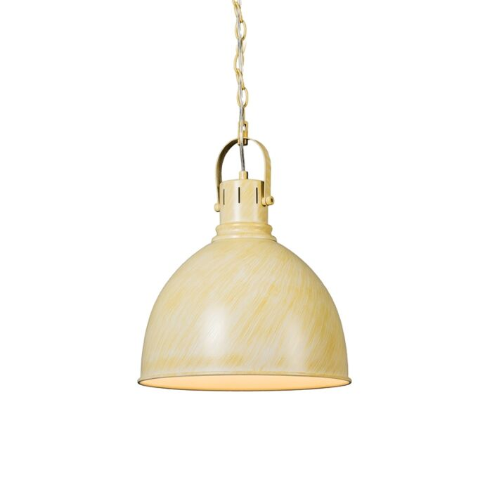 Industriele-ronde-hanglamp-antiek-wit---Goblet