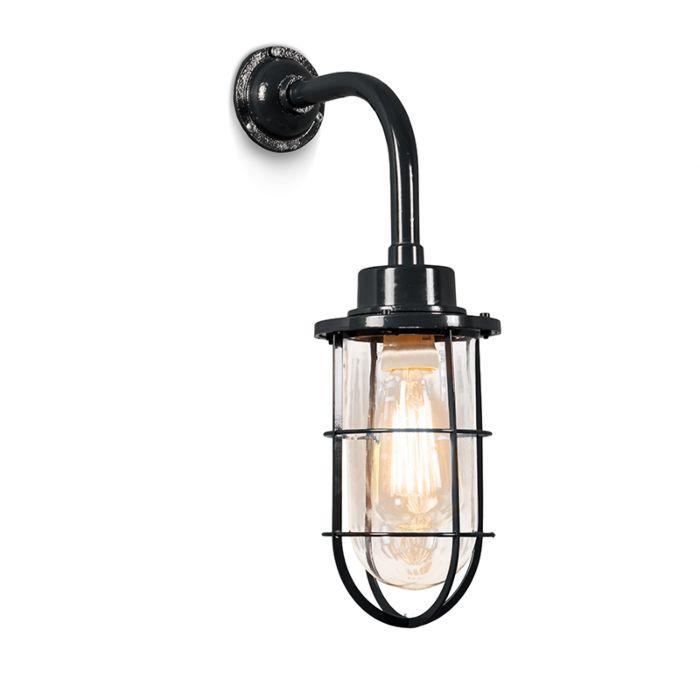 Wandlamp-Port-zwart