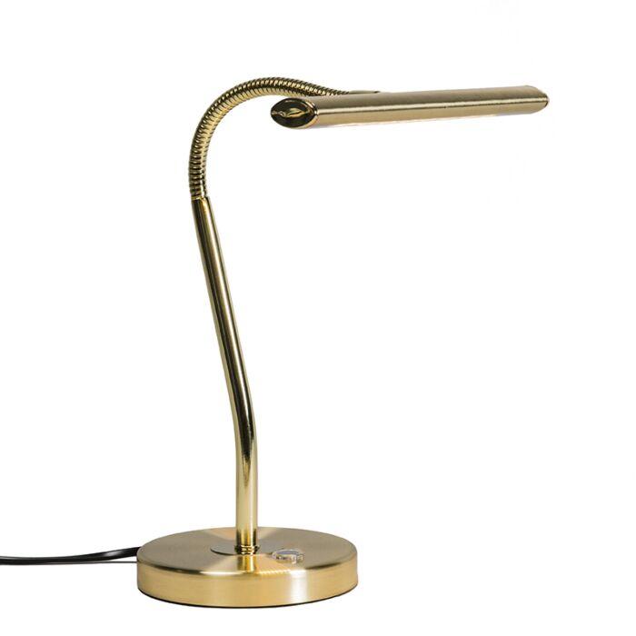 Tafellamp-Tableau-LED-mat-goud