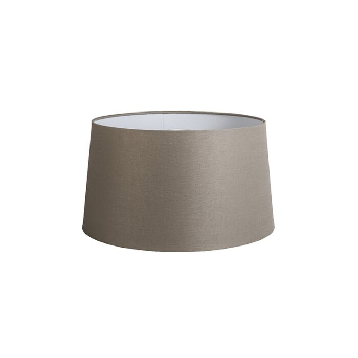 Linnen-lampenkap-taupe-45-cm-
