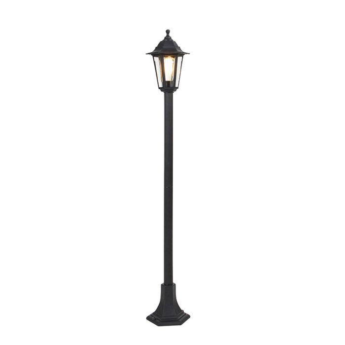 Romantische-lantaarn-zwart-IP44---New-Haven