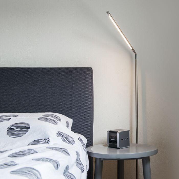 Vloerlamp-Berdien-S-staal