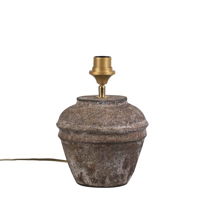 Landelijke-tafellamp-bruin---Arta-XS-vintage