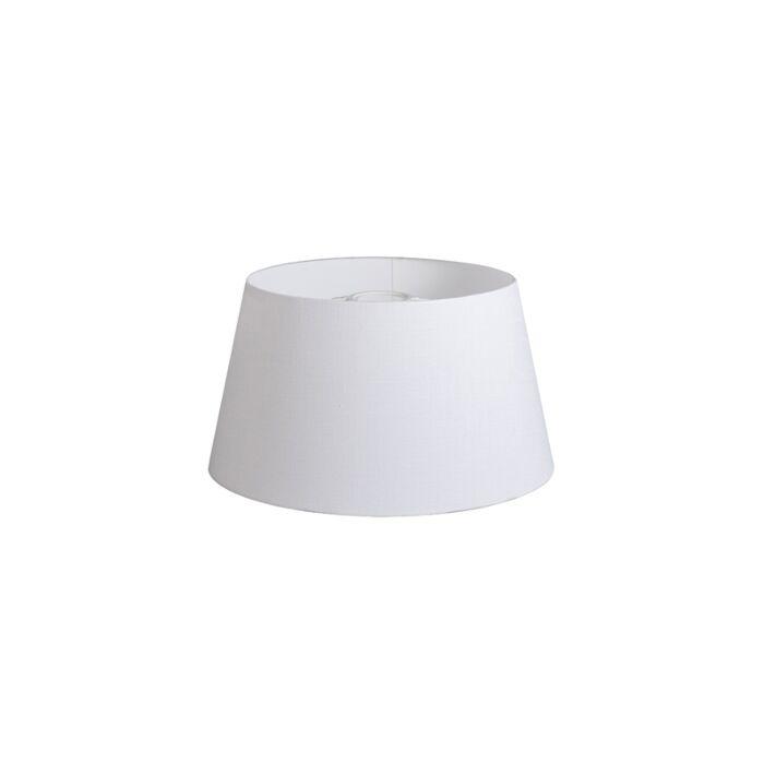 Kap-32cm-rond-DS-E27-linnen-wit