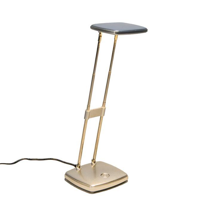 Bureaulamp-Escrito-zilver