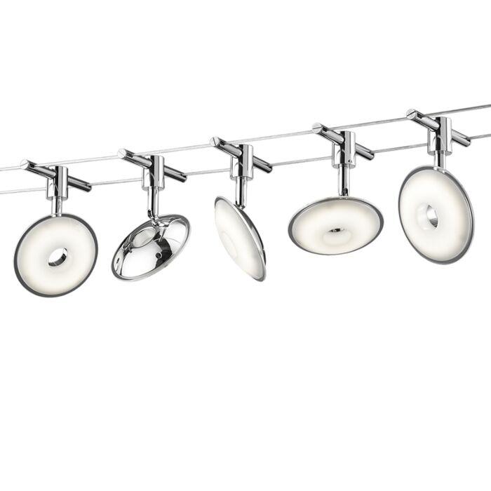 Modern-spankabelsysteem-incl.-LED-5-lichts---Jimmy