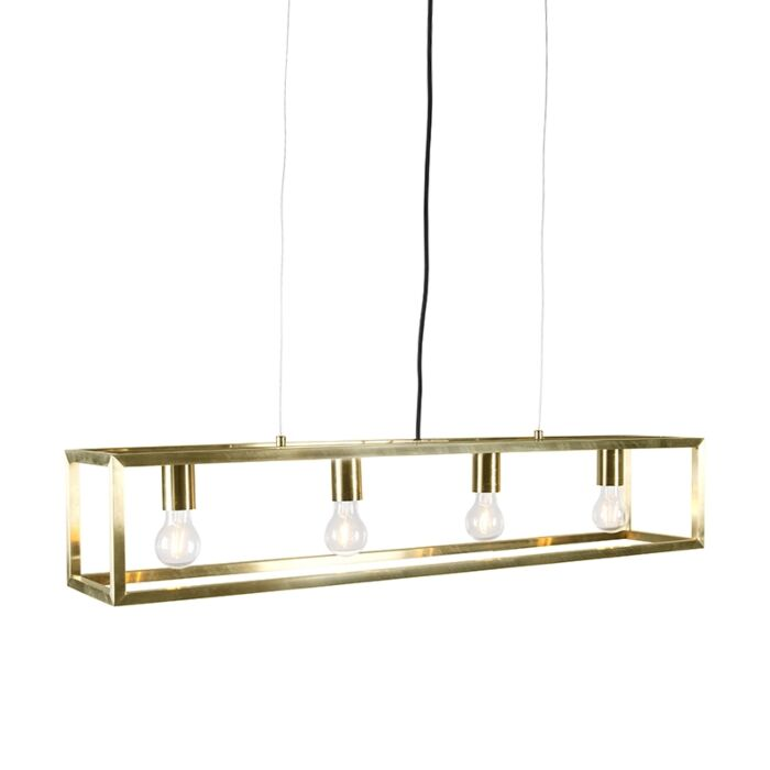 Hanglamp-Cage-4-goud