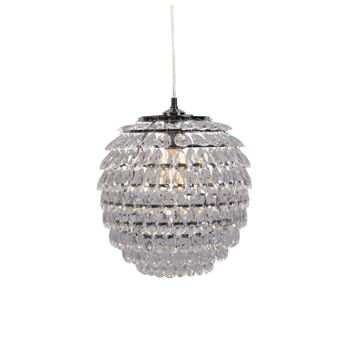 Art-deco-hanglamp-staal---Bling