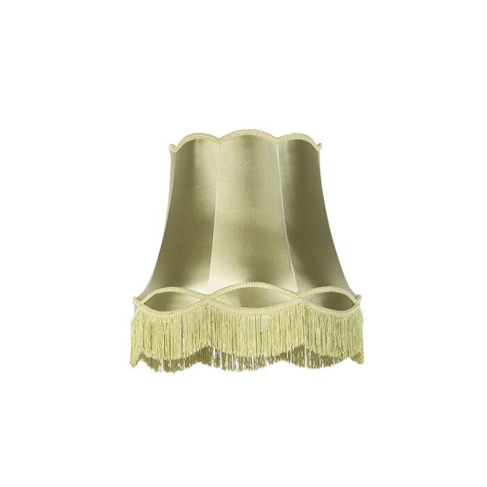 Zijde-lampenkap-groen-45-cm---Granny