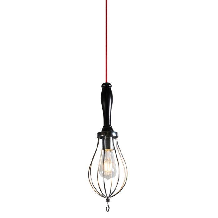Hanglamp-Bati-zwart