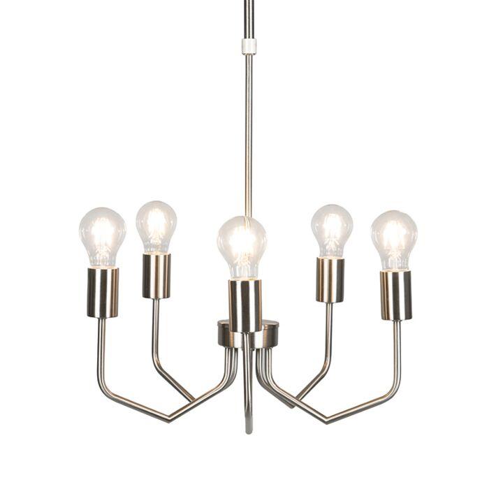 Hanglamp-Ritz-5-staal