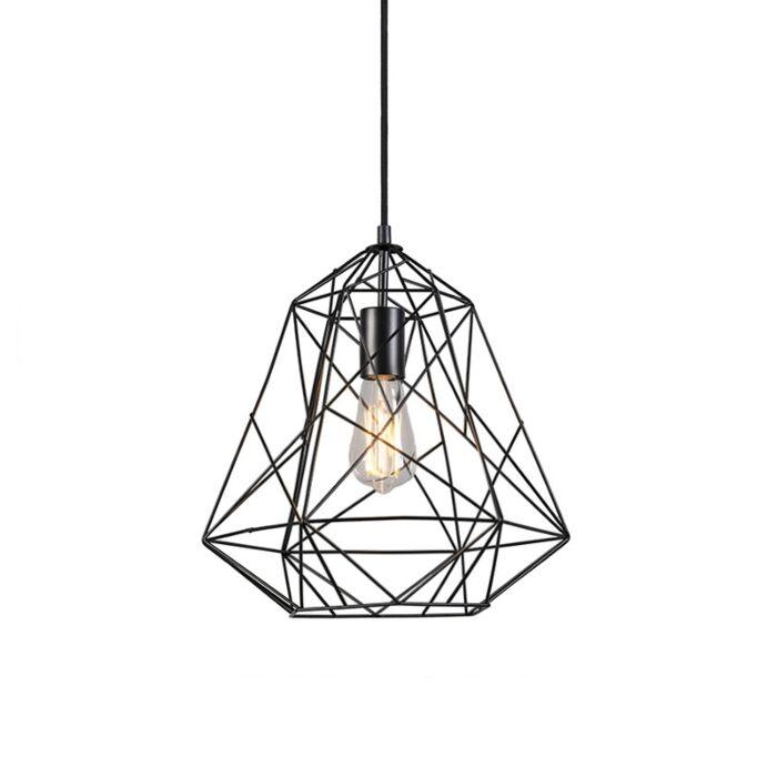 Industriële-hanglamp-zwart---Framework-Basic