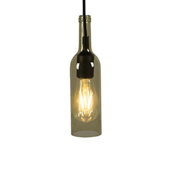 Hanglamp-Bottle-geel