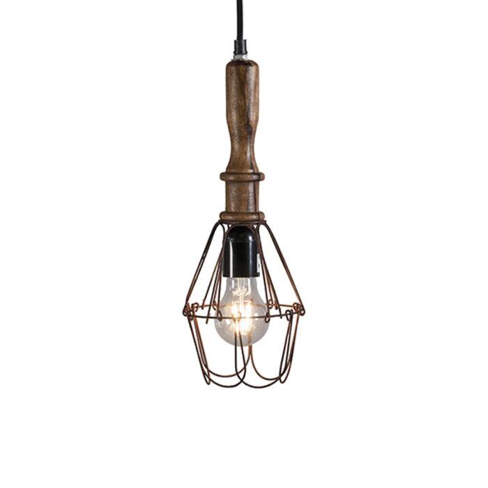 Retro-hanglamp-hout-met-staal---Dario