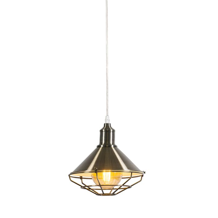 Hanglamp-Toll-goud