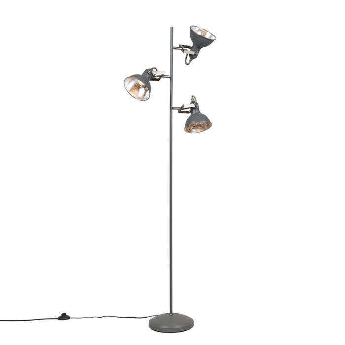 Vloerlamp-Tommy-3-donker-grijs