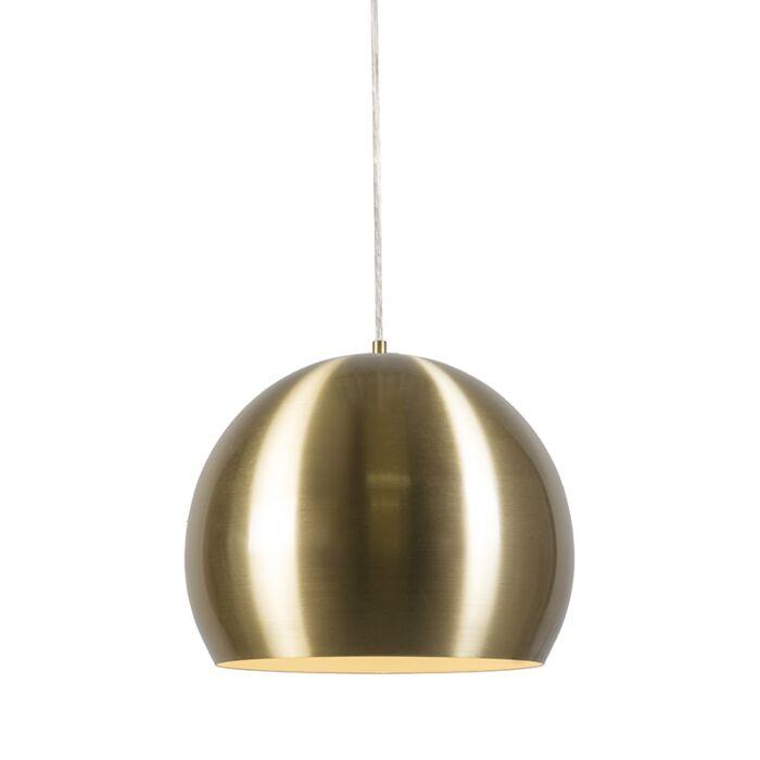 Hanglamp-Orb-goud-33cm