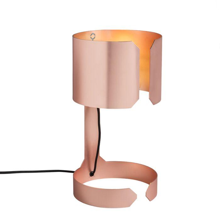 Design-tafellamp-mat-koper---Waltz