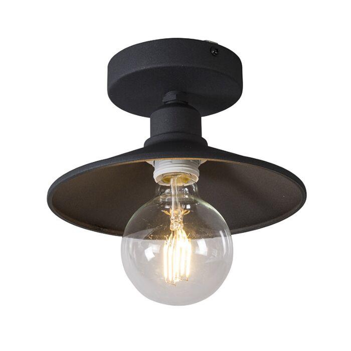 Plafondlamp-Laser-zwart