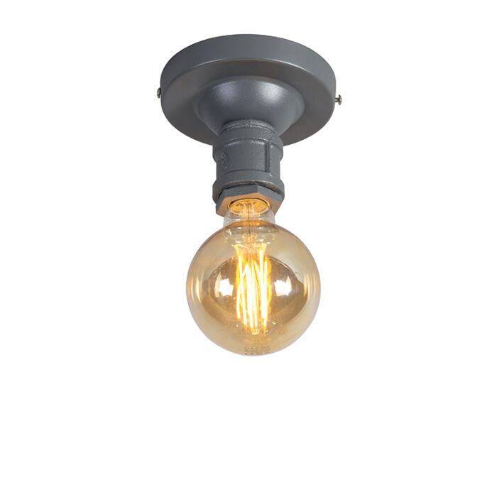 Industriële-plafondlamp-donkergrijs---Plumber-1