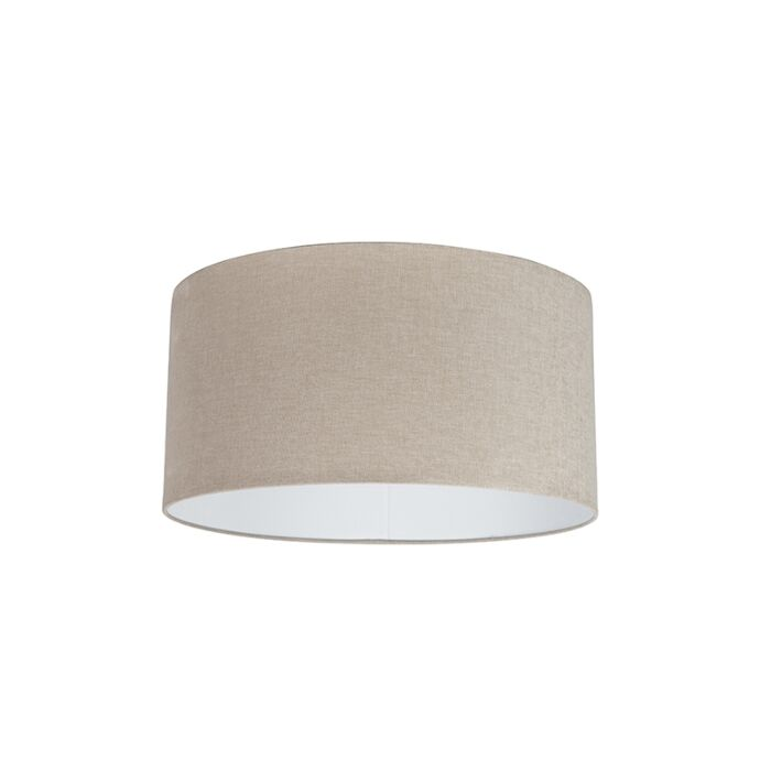 Stoffen-lampenkap-lichtbruin-50/50/25