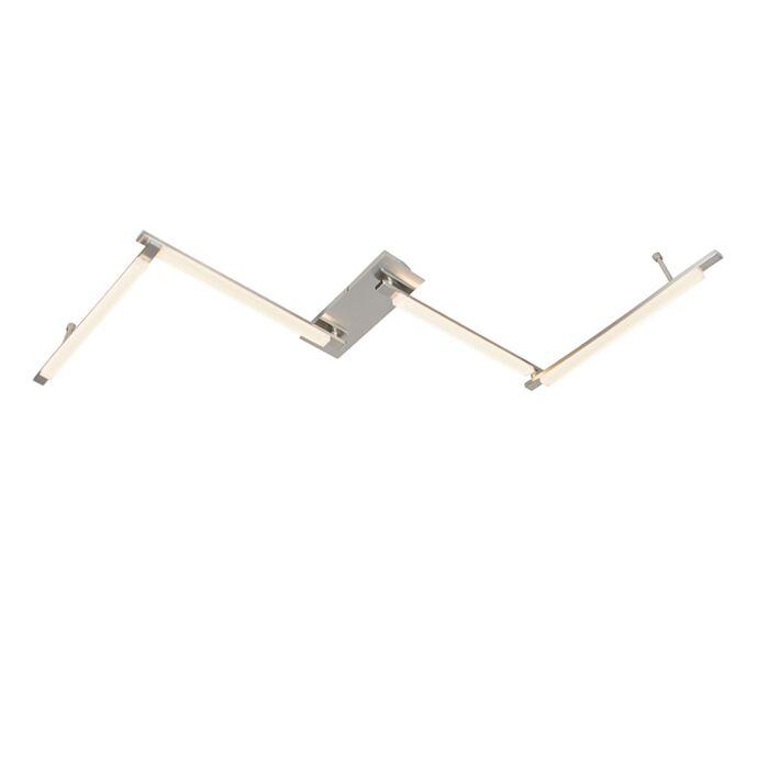 Plafondlamp-Krina-LED-staal