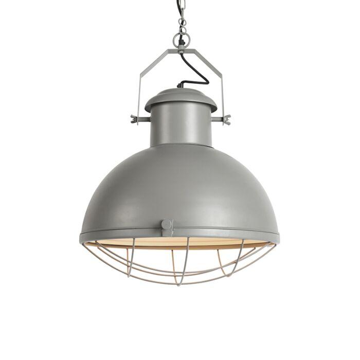 Industriële-hanglamp-grijs---Engine