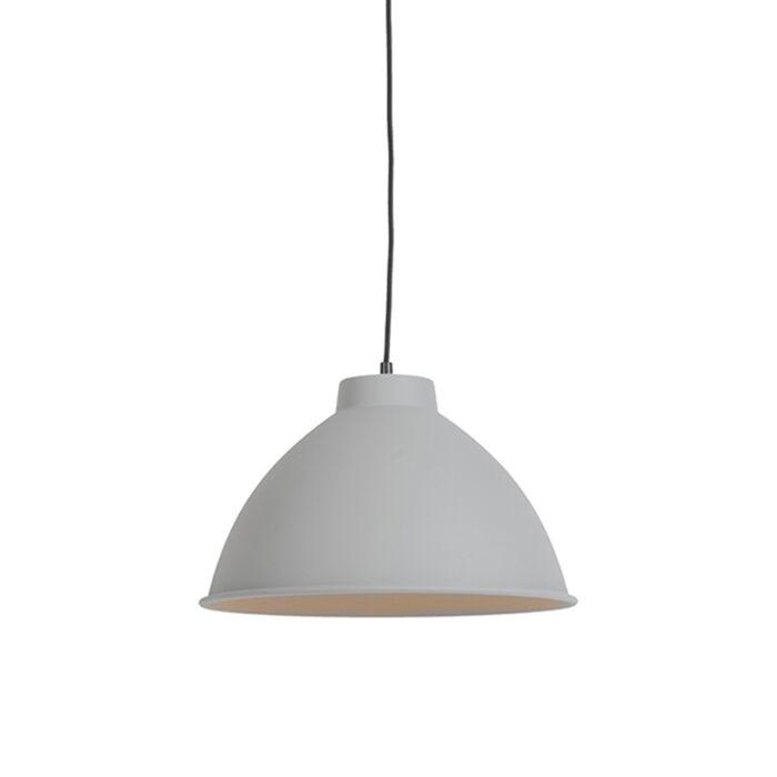 Scandinavische-hanglamp-grijs---Anterio-38-Basic