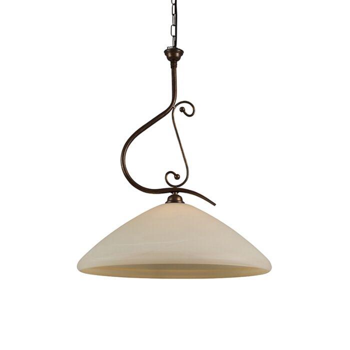 Hanglamp-Lucca-50-met-murano-glas
