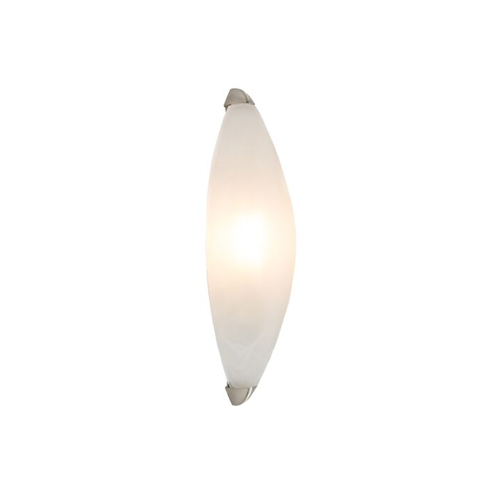 Wandlamp-Rigo-albaster-glas-met-nikkel