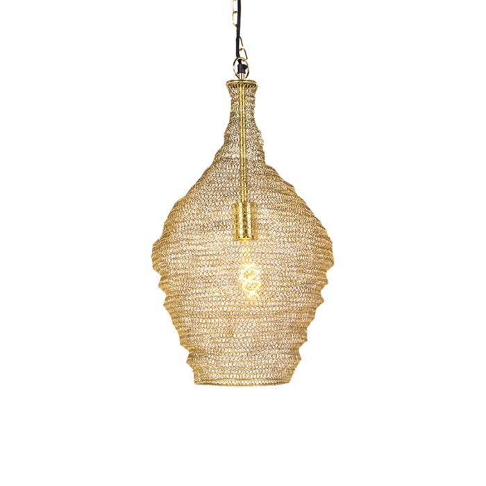 Oosterse-hanglamp-goud-30-cm---Nidum