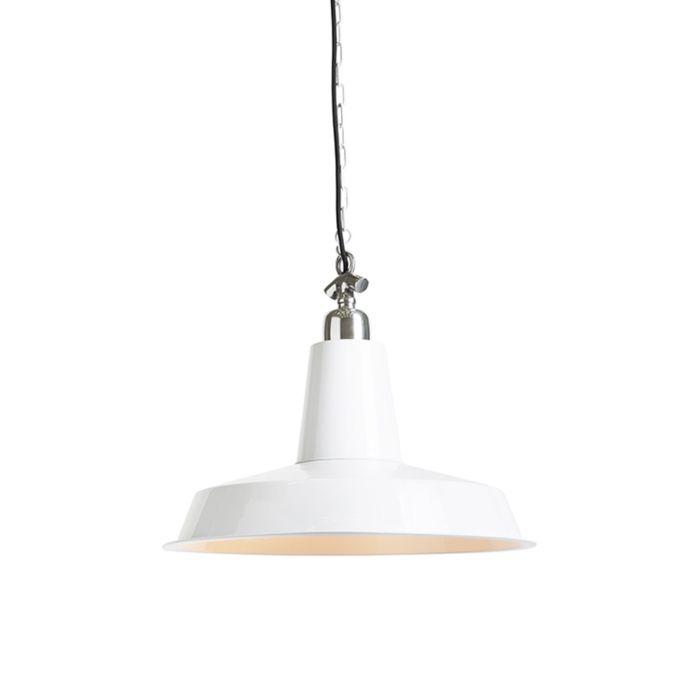 Industriële-hanglamp-wit---Warrior