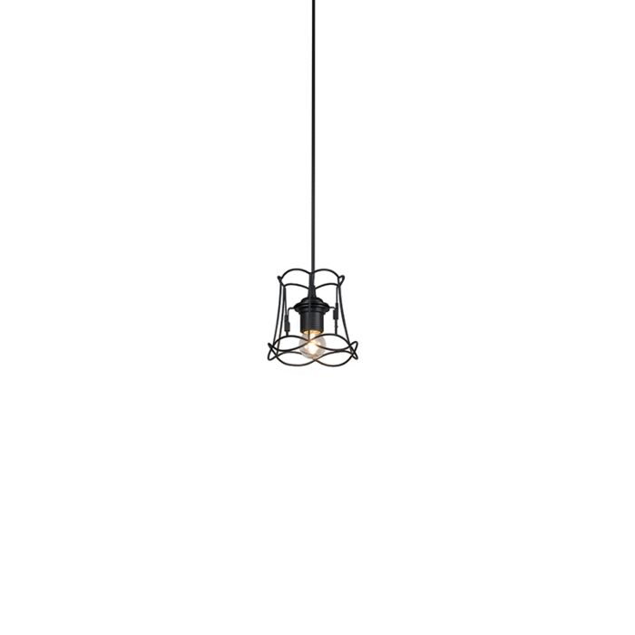 Retro-hanglamp-zwart-15-cm---Granny-Frame