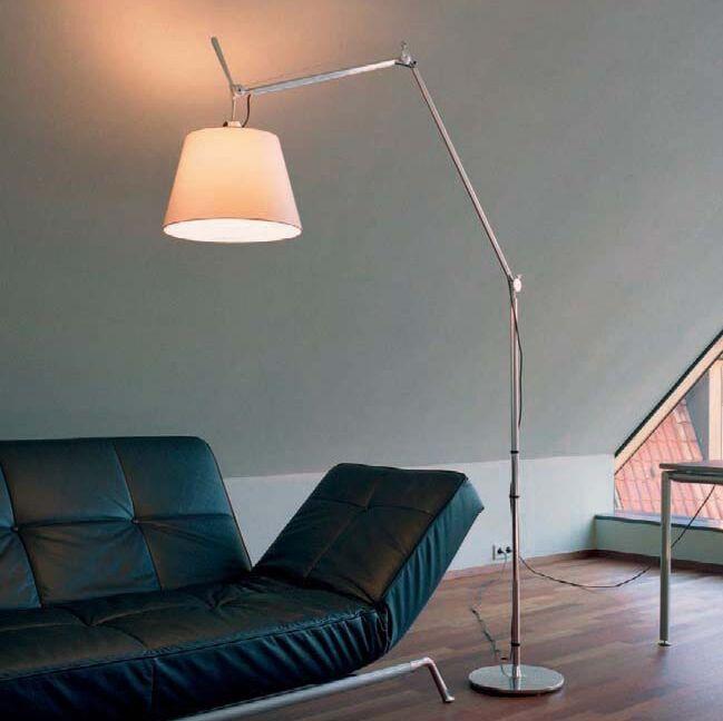 Vloerlamp-aluminium-met-kap---Artemide-Tolomeo-Mega-Terra-