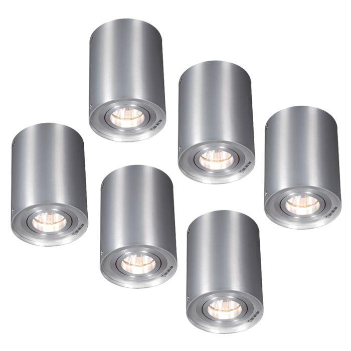 Set-van-6-spots-aluminium-draai--en-kantelbaar---Rondoo-1-up